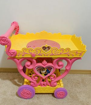 Disney Princess Belle Musical Tea Party Cart for Sale in Lynnwood, WA