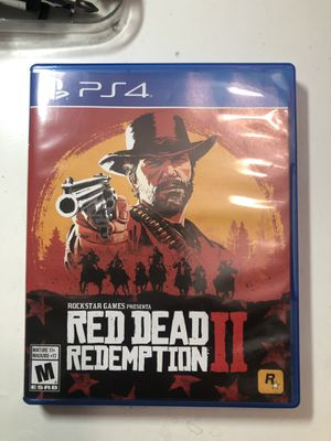 PS4 RED DEAD REDEMPTION 2 for Sale in Garden Grove, CA