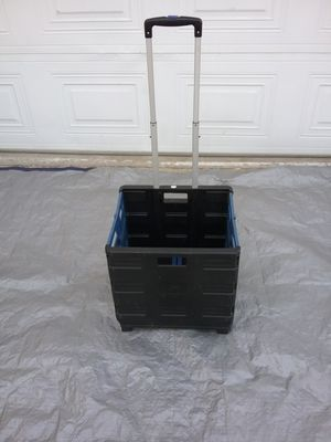 Folding utility cart on wheels for Sale in Colton, CA
