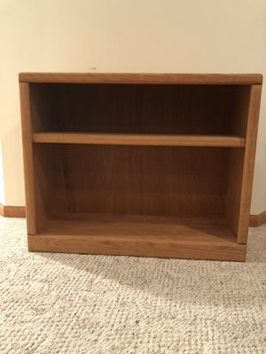 Solid Wood Bookshelf for Sale in Cottage Grove, MN