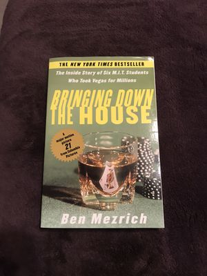 Bringing Down the House Book by Ben Mezrich for Sale in Harrisonburg, VA