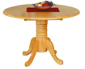 Round Table, Light Oak, Brown, Kitchen & Dining Set for Sale in Long Beach, CA