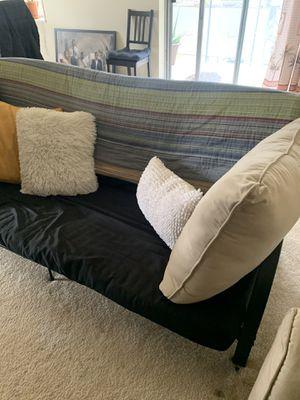 Black Futon Couch for Sale in Arlington, VA