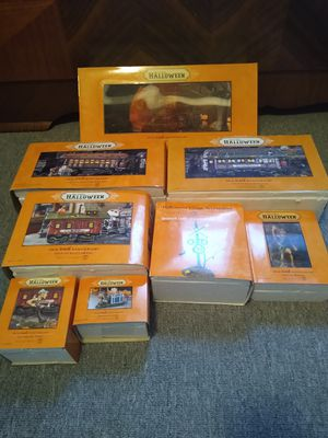 Dept 56 Halloween haunted rails train set for Sale in Waterbury, CT