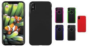Hybrid rubber mat cover and hard case for Apple iPhone x and Xs for Sale in Oxford, NC