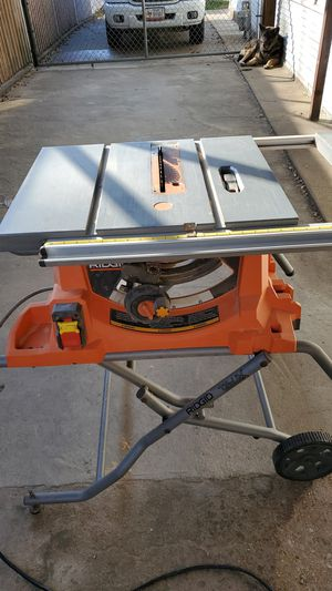Rigid table saw for Sale in Fort Worth, TX