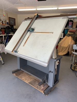 Old style drafting table for Sale in Fort Pierce, FL