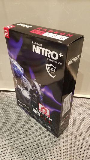 Graphics Card - GPU. Sapphire Nitro+ Radeon RX580 - 4GB for Sale in Pembroke Pines, FL