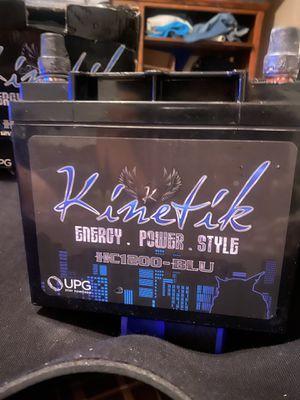 Kinetic 12V 1200 Amp Power Cell Model: HC1200-BLU for Sale in Santa Clarita, CA