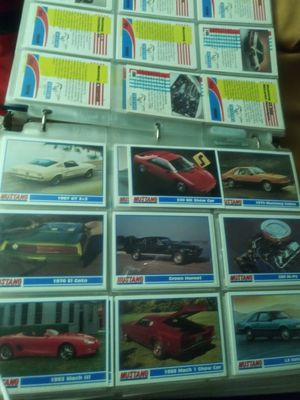 210 Mustang collectors cards ex cond for Sale in Oklahoma City, OK