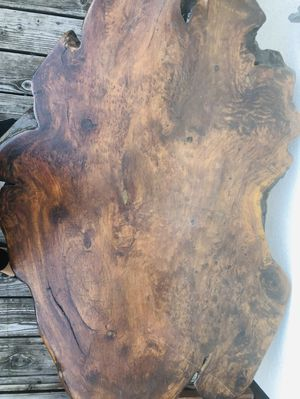 Redwood coffee table for Sale in Monterey, CA