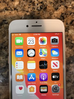 Apple iPhone 8 64gb gold color T-Mobile simple mobile metro sprint for Sale in Ontario, CA
