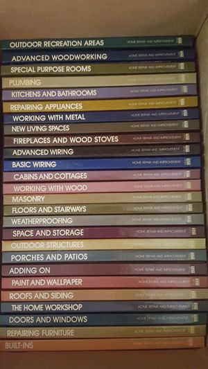 26 Time Life Home Repair Books for Sale in West Chicago, IL
