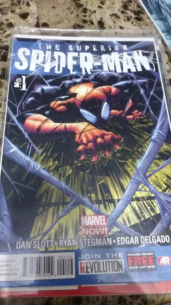 Spiderman/wolverine/punisher comics