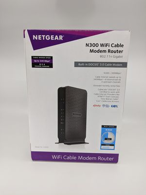 Netgear N300 Modem/Wireless Router for Sale in San Diego, CA
