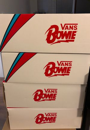 David Bowie Vans Size 8-9.5 for Sale in San Francisco, CA