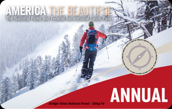 """National Parks Annual Pass $80 Value for $50 """"America the Beautiful"""" Expires in 1 Year Oct 2021"""