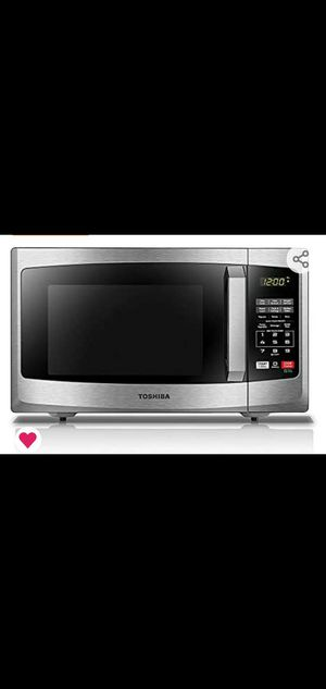 $50 Toshiba microwave (half priced) for Sale in Chantilly, VA