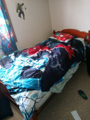 Single Bed(Free Has to be gone today) for Sale in Euclid, OH