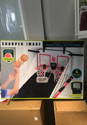 Sharper image electronic basketball hoops game for Sale in Pembroke Pines, FL