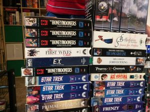 VHS MOVIES for Sale in Lynnwood, WA