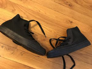 Converse all black material size 3 for Sale in Bronx, NY