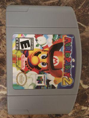 Mario party 2 Nintendo 64 for Sale in Spokane, WA