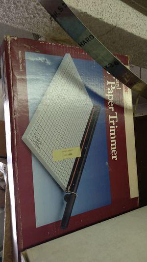 Paper trimmer for Sale in Pico Rivera, CA
