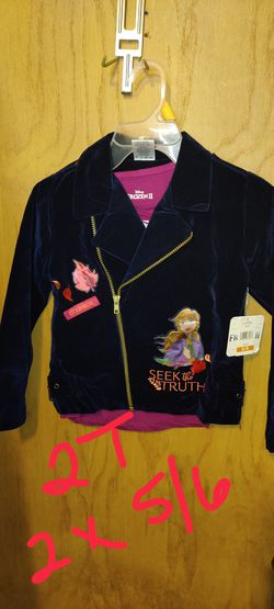 New 2piece Soft Velvet Jacket With Tshirt. 2t. NWChgo for Sale in Chicago,  IL