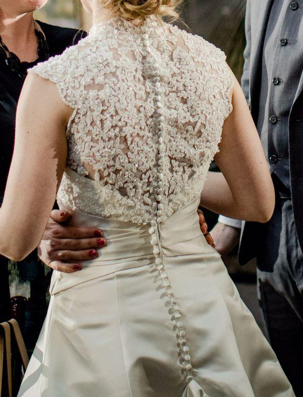 Ivory Wedding Dress – Size 10