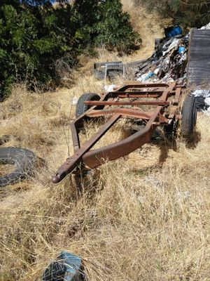 Short bed utility trailer made out of a 66 Dodge pickup for Sale in Oroville, CA