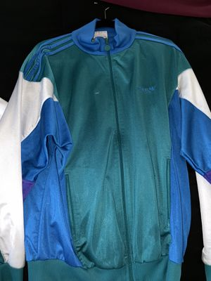Vintage Adidas Jacket Size M-L for Sale in Lake Oswego, OR