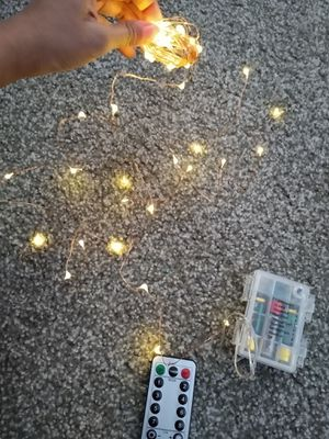 17ft fairy string light with remote for Sale in Gurnee, IL