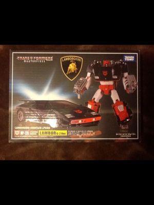 Transformers Masterpiece G2 Sideswipe Lambor Takara Tomy Authentic for Sale in Cerritos, CA