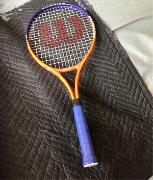 Wilson fusion titanium tennis racket for Sale in Corona, CA