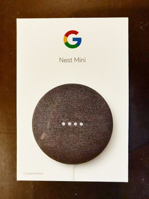 Google Home Nest Mini - Smart Speaker (with free Chromecast) for Sale in Renton, WA