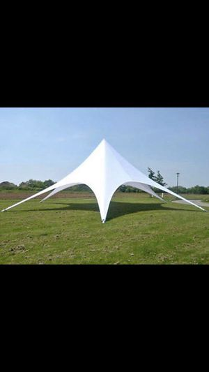 SIX STAR TENT (WHITE) for Sale in Pinon Hills, CA