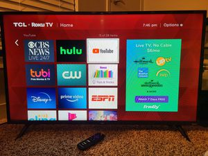 40 inch TCL smart TV for Sale in Glendale Heights, IL