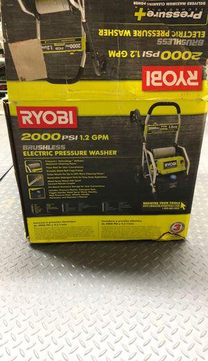 Brand new in the box Ryobi 2000 PSI 1.2 GPA electric pressure washer for Sale in Tampa, FL