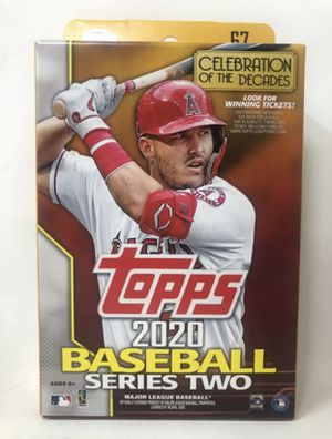 Topps box for Sale in Rochester, NY