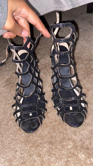 Black Sparkly Heels for Sale in Arlington, VA