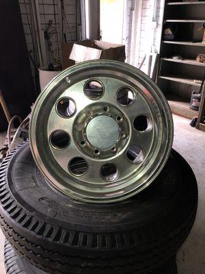 8-lug MB Motoring 17x9 rims (4) for Sale in Houston, TX