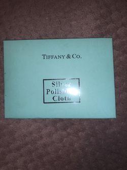 Tiffany & Co Silver Polishing Cloth NEW for Sale in Wildomar,  CA