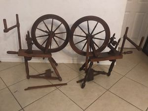2 spinning wheels for Sale in Cape Coral, FL