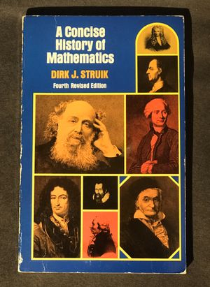 A Concise History of Mathematics for Sale in Pasco, WA