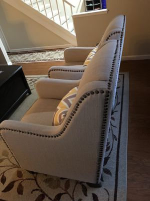 FREE. Two upholstered wing back chairs for Sale in Petaluma, CA