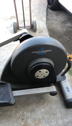 Pro form space saver elliptical workout machine for Sale in Lynwood, CA