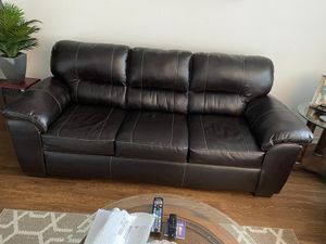 Chocolate brown sofa set for Sale in Melbourne, FL