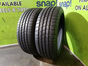 Two 235/45/19 GOODYEAR EAGLE LS2, 100 DAY WARRANTY, FREE MOUNT AND BALANCE!! for Sale in Tampa, FL