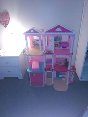 Barbie dream house, twin bed & frame etc. for Sale in Williamsport, PA